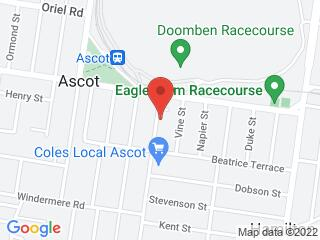 Google Map of Suite 10 137-143 Racecourse Road Ascot QLD 4007