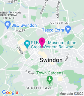 Google Map of , Swindon, SN1 1RE