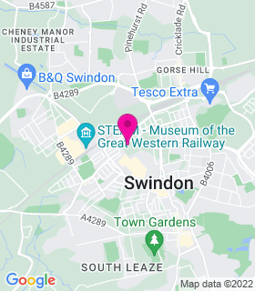 Google Map of , Swindon, SN1 1RQ
