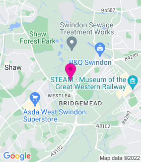 Google Map of , Swindon, SN5 7YT