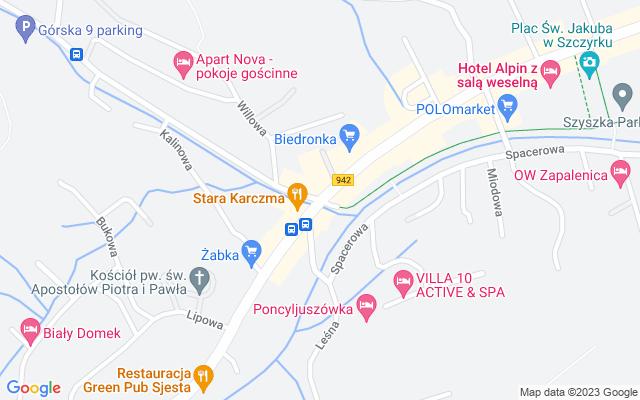 Show map of Szczyrk