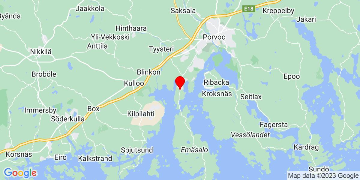Google Map of Tolkkistentie 773, 06750 Tolkkinen