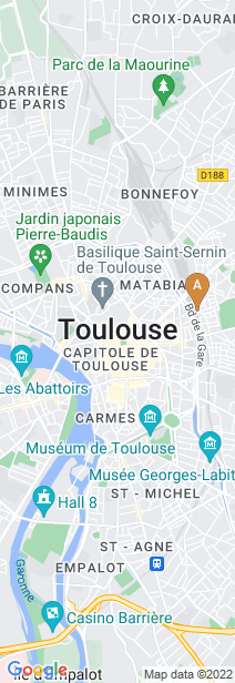 Google Map of Toulouse