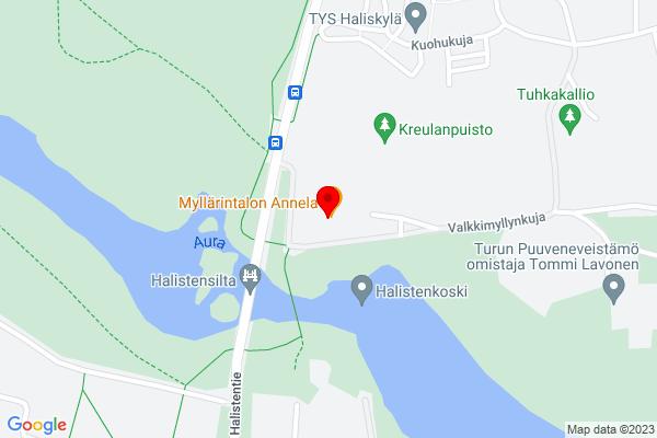 Google Map of Valkkimyllynkuja 2