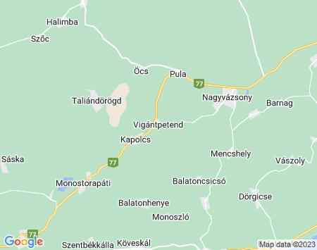 Riasztó Vigántpetend