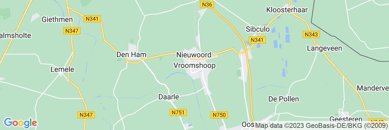 Schiphol Taxi A1 Vroomshoop