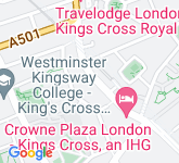 Google Map of WC1X 9LW