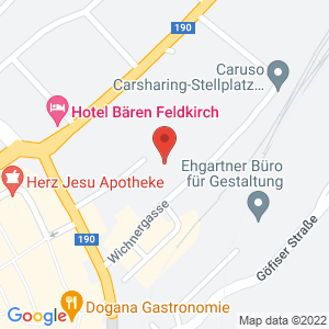 Google Map of Wichnergasse 9, 6800 Feldkirch