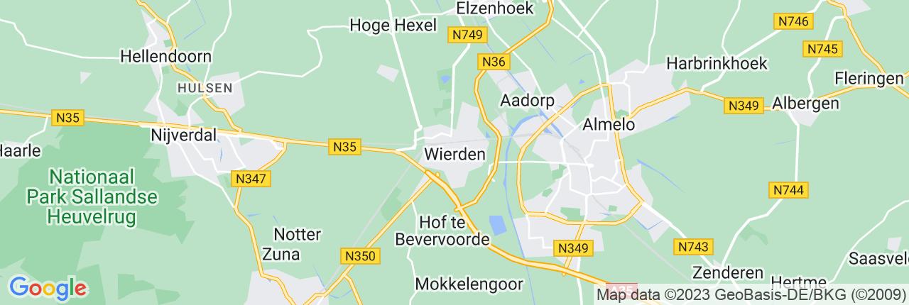 Schiphol Taxi A1 Wierden