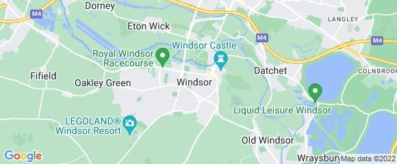Location map for carpet fitter in Windsor, Berkshire, SL4