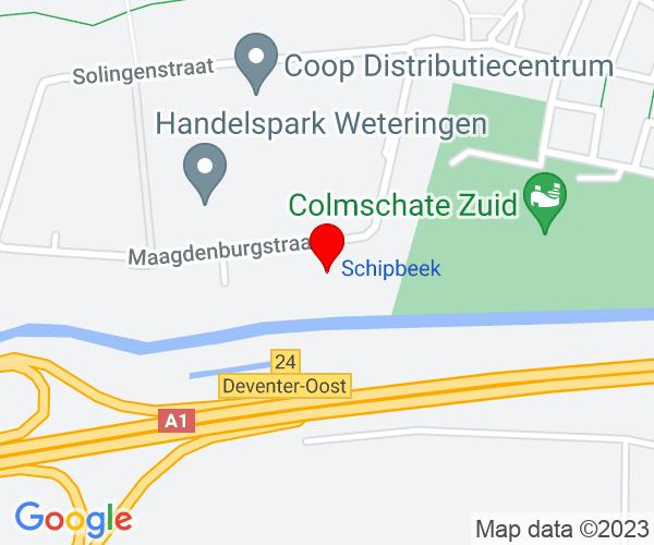 Google Map of maagdenburgstaat 26, 7421 Deventer