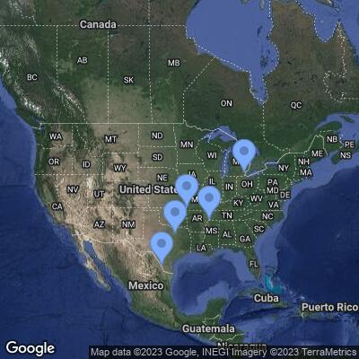 XPO Logistics terminal locations