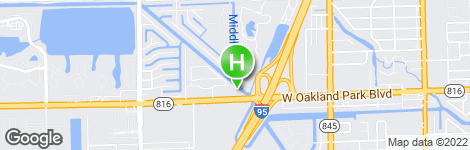 Days Inn by Wyndham Fort Lauderdale-Oakland Park Airport N - Location on map