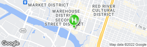The LINE Austin - Location on map