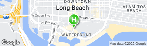 Hyatt Regency Long Beach - Location on map