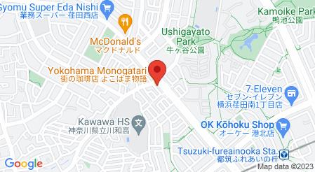 街の珈琲店 よこはま物語|地図