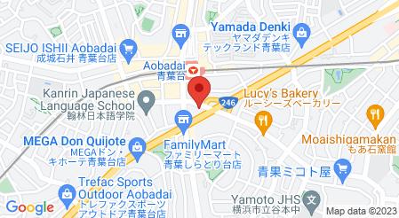 Cafe&Dining George 青葉台|地図