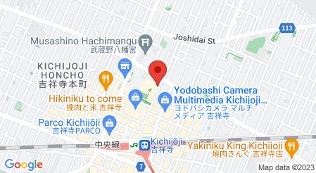 AZDINING 吉祥寺本店|地図