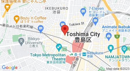 リゾートダイニング フーズフーズ 池袋店|地図
