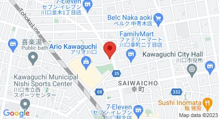 ゆず庵 川口店|地図
