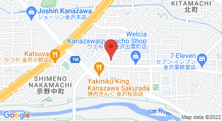 ゆず庵 金沢桜田店|地図