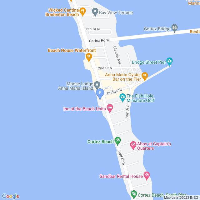 Property Map for 200 Gulf Drive #6, Bradenton Beach, FL 34217