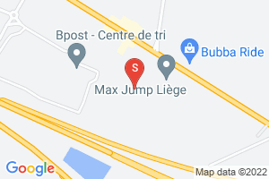 Google Map of E40 Business Park Rue de Bruxelles 174 S B-4340 Awans