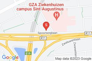 Google Map of Spoorweglaan 25-31 B-2610 Wilrijk