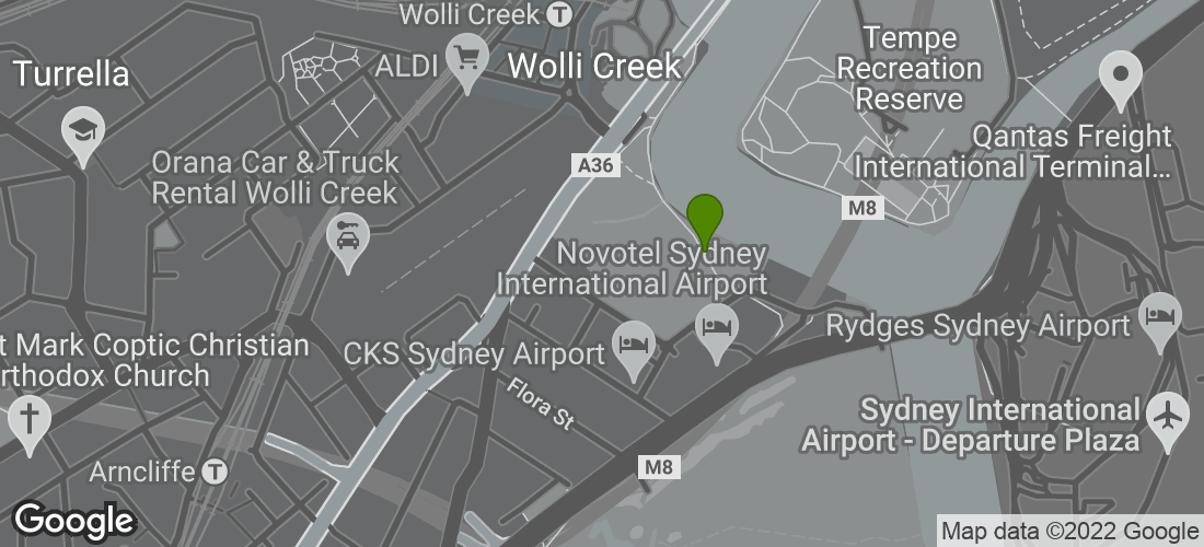 Google Map of Cahill, Sydney NSW Australia