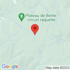 Carte / Plan Plateau de Beille