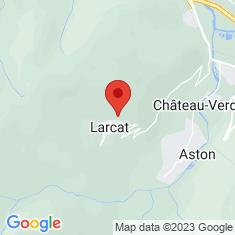 Carte / Plan Larcat