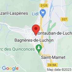 Carte / Plan Bagnères-de-Luchon