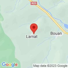 Carte / Plan Larnat