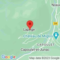Carte / Plan Lapège