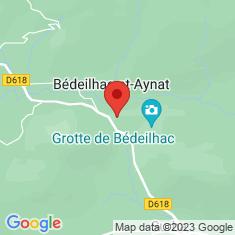Carte / Plan Bédeilhac-et-Aynat
