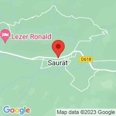 Carte / Plan Saurat