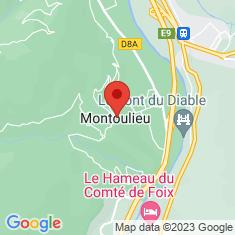 Carte / Plan Montoulieu (Ariège)