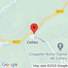 Carte / Plan Celles (Ariège)