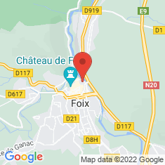 Carte / Plan Foix