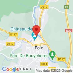 Carte / Plan Hôtel de préfecture de l'Ariège