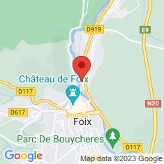 Carte / Plan Gare de Foix