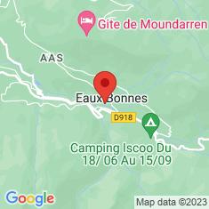 Carte / Plan Eaux-Bonnes
