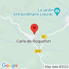 Carte / Plan Carla-de-Roquefort