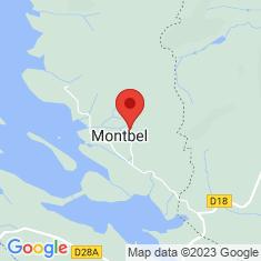 Carte / Plan Montbel (Ariège)