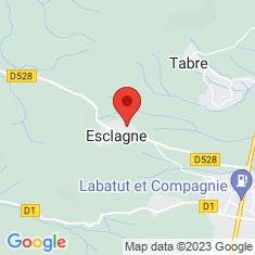 Carte / Plan Esclagne