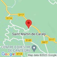 Carte / Plan Saint-Martin-de-Caralp