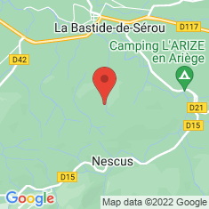 Carte / Plan Parc naturel régional des Pyrénées ariégeoises