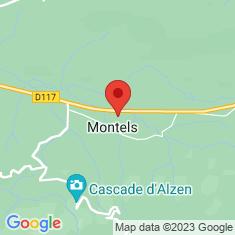 Carte / Plan Montels (Ariège)