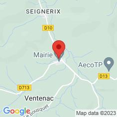 Carte / Plan Ventenac