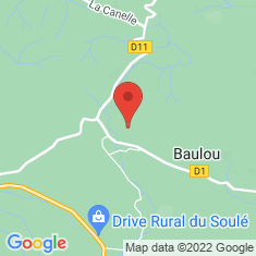 Carte / Plan Baulou